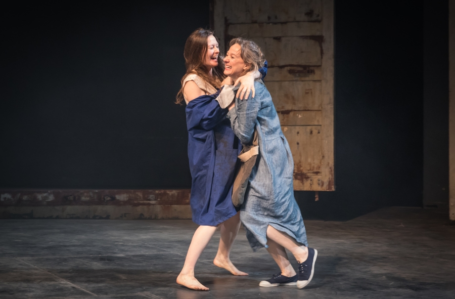 My Brilliant Friend Part 1. Catherine McCormack (Lila) and Niamh Cusack (Lenu). Photo credit Marc Brenner (1).jpg
