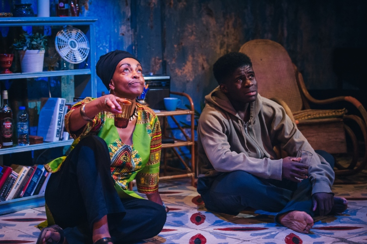 Adjoa Andoh and Kenneth Omole in Assata Taught Me_Image by ikinyum photography (2)